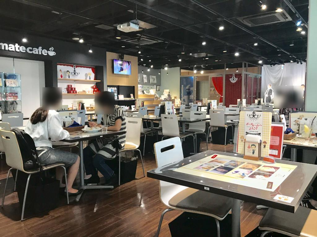 アニメイトカフェ2号店店内風景