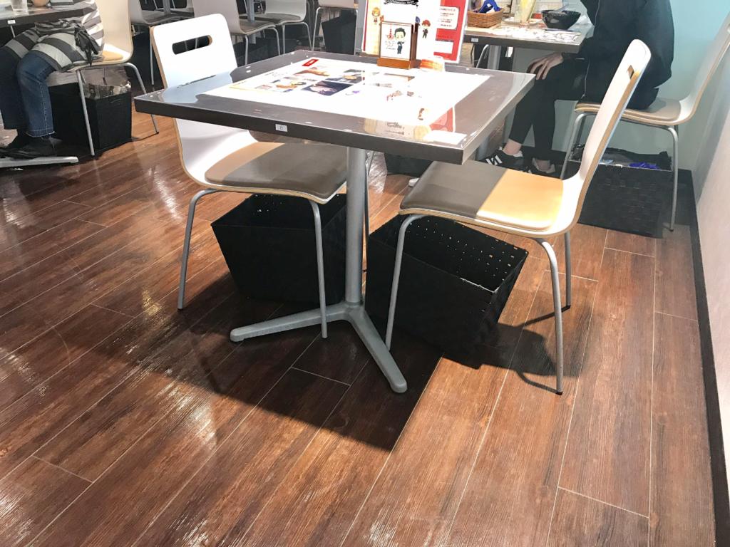 アニメイトカフェ2号店座席